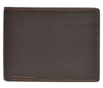 MARIUS Portebillets poche monnaie rabat Portemonnaies & Clutches für Taschen in braun