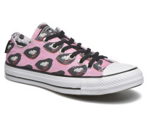 Chuck Taylor All Sta Fantasy Ox W Sneaker in rosa