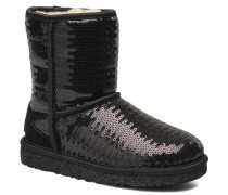K Classic Short Sparkles Stiefeletten & Boots in schwarz