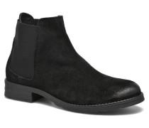 Sofie Leather Boot Stiefeletten & Boots in schwarz