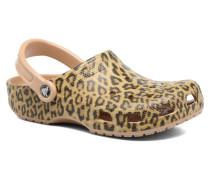 Classic Leopard III Clog Clogs & Pantoletten in mehrfarbig