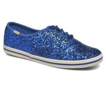Ch Kate Spade Glitter Sneaker in blau