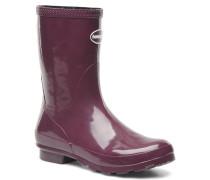Helios Mid Rain Boots Stiefeletten & in lila
