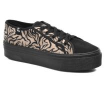 Jump Low Mono Sneaker in schwarz