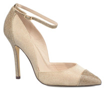 Motown Pumps in goldinbronze