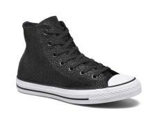 Ctas Stingray Metallic Hi Sneaker in schwarz