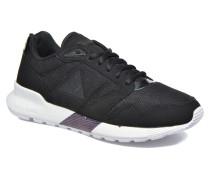 Omega X W Oil Sneaker in schwarz