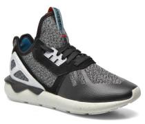 Tubular Runner Sneaker in schwarz