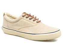 Striper LL Line Sneaker in beige