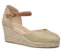 Caceres Espadrilles in goldinbronze