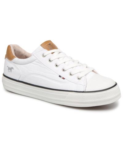 Mustang Damen Fanchi Sneaker in weiß