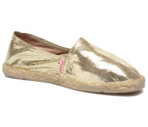 VP Cuir Espadrilles in goldinbronze