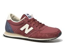 U420 W Sneaker in weinrot