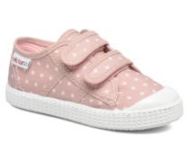 Basket Estrellas Velcros Sneaker in rosa