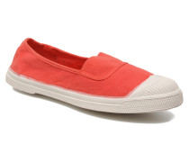 Tennis Elastique Ballerinas in rot