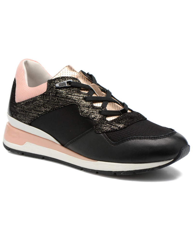 geox damen geox d shahira a d44n1a sneaker f r damen schwarz reduziert. Black Bedroom Furniture Sets. Home Design Ideas