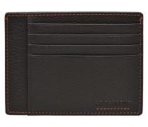 MARIUS Portepapiers 3 poches Portemonnaies & Clutches für Taschen in braun