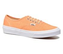 Authentic Slim W Sneaker in orange