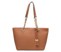 JAMBU Cabas Handtaschen für Taschen in braun