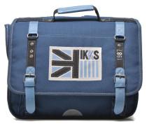 Cartable UK 38cm Schulzubehör für Taschen in blau