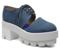 DELONGE Schnürschuhe in blau