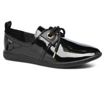 Stone patent Sneaker in schwarz
