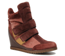 Tina Sneaker in weinrot