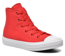 Chuck Taylor All Star II Hi Sneaker in rot