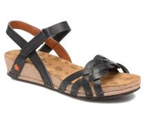 Pompei 735 Sandalen in schwarz