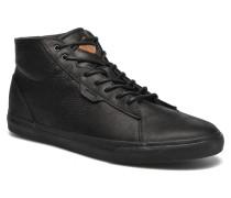 Ridge Mid Lux Sneaker in schwarz