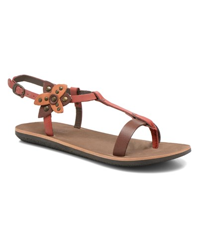 kickers damen kickers spartflower sandalen f r damen mehrfarbig reduziert. Black Bedroom Furniture Sets. Home Design Ideas
