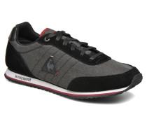 Marsancraft 2 TonesinSuede Sneaker in schwarz