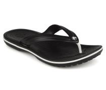Crocband Flip M Zehensandalen in schwarz
