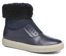 Hobo fur avec fourrure Stiefeletten & Boots in blau