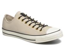 Ctas Ox Lthr M Sneaker in beige