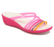 Isabella Mini Wedge W Clogs & Pantoletten in rosa