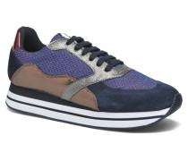 Eden Street Split in Jerk Sneaker blau