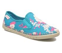 Bora Big Flower Sneaker in blau