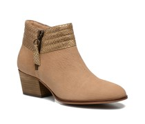 Secret Collar Stiefeletten & Boots in beige