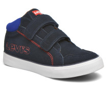 Patch Sneaker in blau