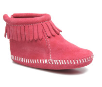 Back Flap Bootie Hausschuhe in rosa