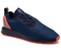 Zx Flux Adv Asym Sneaker in blau