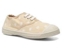 Tennis Lacets Pastel Pastilles E Sneaker in beige