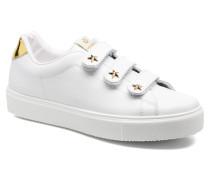 Deportivo Velcros PielinEstrella Sneaker in weiß