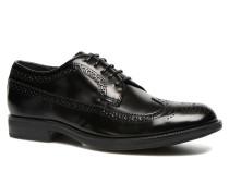 Class 2 Schnürschuhe in schwarz
