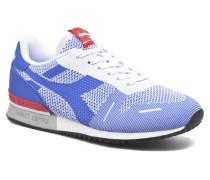 TITAN WEAVE Sneaker in blau
