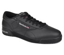 Exofit Lo Clean Logo Int Sneaker in schwarz