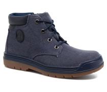 Ramble Wild Canvas Lace Stiefeletten & Boots in blau