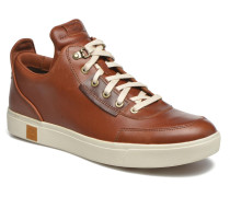 Amherst High Top Chukka Sneaker in braun