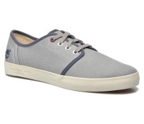 Newport Bay Canvas Plain Sneaker in grau